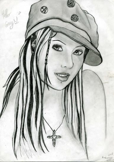 Christina Aguilera by Cassiope